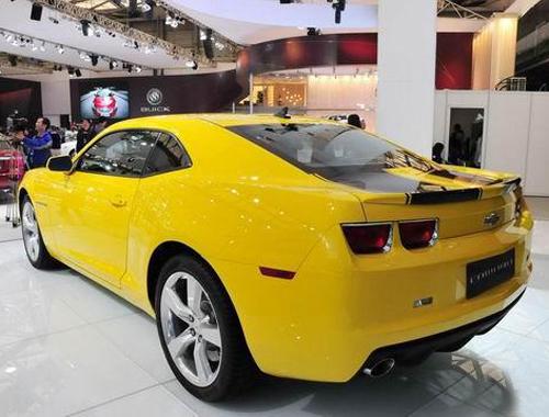 大黄蜂雪佛兰camaro明年进口 预计150万元高清图片