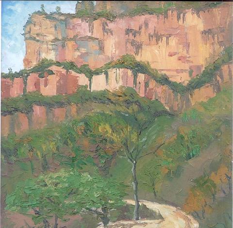 首页>> 新闻中心 >> 正文    展览中的油画风景,静物和少量的素描