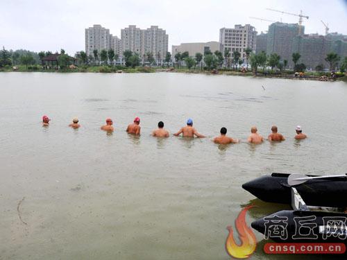 睢县水上义务救援队立即启动应急预案
