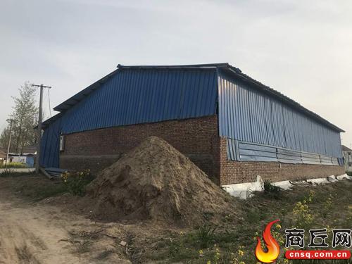 虞城县大侯乡沱河边被举报多年的违建为何未拆除