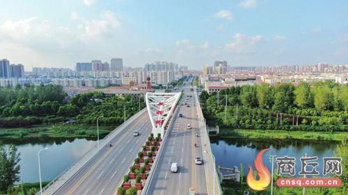 永城:三桥架南北 连通幸福路